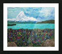 Mount Baker Picture Frame print