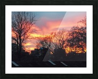 Sunset 2 Picture Frame print