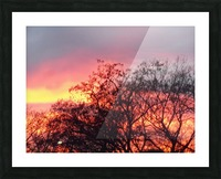 Sunset 3 Picture Frame print