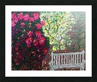 Glendale Gardens Victoria BC-Rodos Picture Frame print