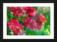 Bottle Brush Abstract 2 Picture Frame print