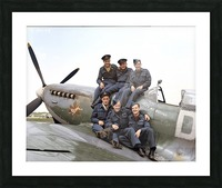 416 Squadron RCAF Picture Frame print