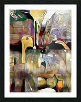 Modern Abstract Picture Frame print