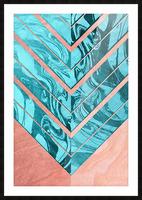 Geometric XXXXVI Picture Frame print