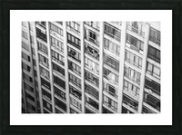 Sao Paulo Downtown Picture Frame print