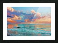 Seascape Serenade Picture Frame print