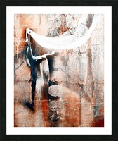 Dancer in the forest Picture Frame print