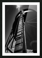 Water Tower BnW Picture Frame print