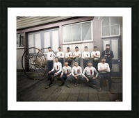 Vancouver hose reel racing team Picture Frame print