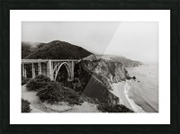 Bixby Bridge B&W Impression et Cadre photo