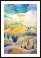 Beauty of Nature - Illustration III Picture Frame print