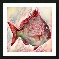 Ocean Art Picture Frame print