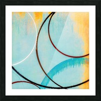 In Certain Circles Picture Frame print