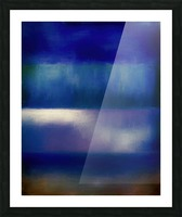 Color of the Blues Picture Frame print