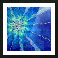 A Blue True Dream of Sky Picture Frame print