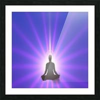 Meditation Art Picture Frame print