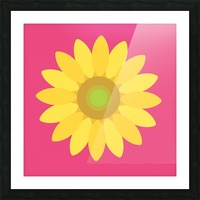 Sunflower (10) Picture Frame print