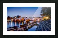 Richmond Bridge London Picture Frame print