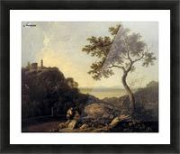 Hadrain's Villa Picture Frame print