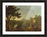 View near Wynnstay Picture Frame print