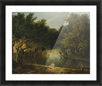 View of the Wilderness in St. James's Park Picture Frame print