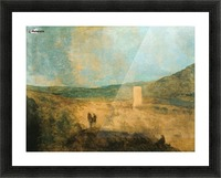 Landscape with castle Picture Frame print
