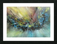 Abstract Picture Frame print