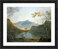 View of Snowdon Picture Frame print