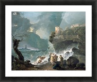 Ceyx and Alcyone Picture Frame print