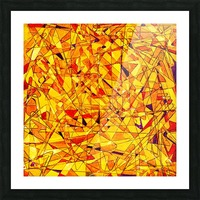 ABSTRACT SHAPES 09 Picture Frame print