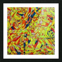 ABSTRACT SHAPES 10 Picture Frame print