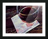Wine Art Picture Frame print