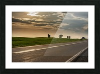 A twilight on the road Impression et Cadre photo