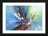 Abstract 165 Picture Frame print