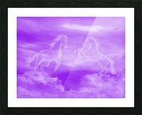 Spirit Horses Picture Frame print