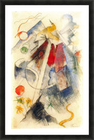 Sketch of the Brenner road -1- by Franz Marc Picture Frame print