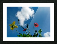 Happy Spring Flowers Picture Frame print