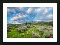 Goodenough Canyon Landscape Picture Frame print