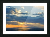 Portneuf Valley at Sunset Picture Frame print
