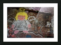 Angel in Krylon Picture Frame print