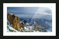Zugspitze Picture Frame print