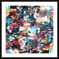 Abstract Flow II Picture Frame print