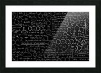 medical biology detail medicine psychedelic science abstract abstraction chemistry Genetics Picture Frame print