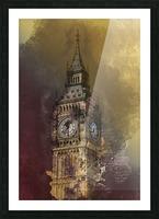 london big ben building Picture Frame print