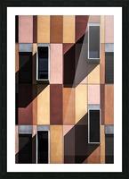 architectural design architecture building colors Picture Frame print