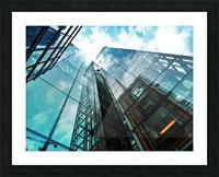 architectural design architecture building business Picture Frame print