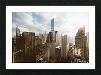 architectural design architecture buildings city Picture Frame print
