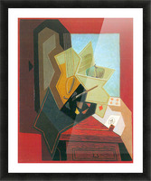 The window of the painter by Juan Gris Picture Frame print
