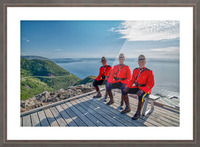 Have a Seat - in Red Serge Picture Frame print