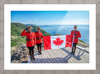 We Stand on Guard for Thee Picture Frame print
